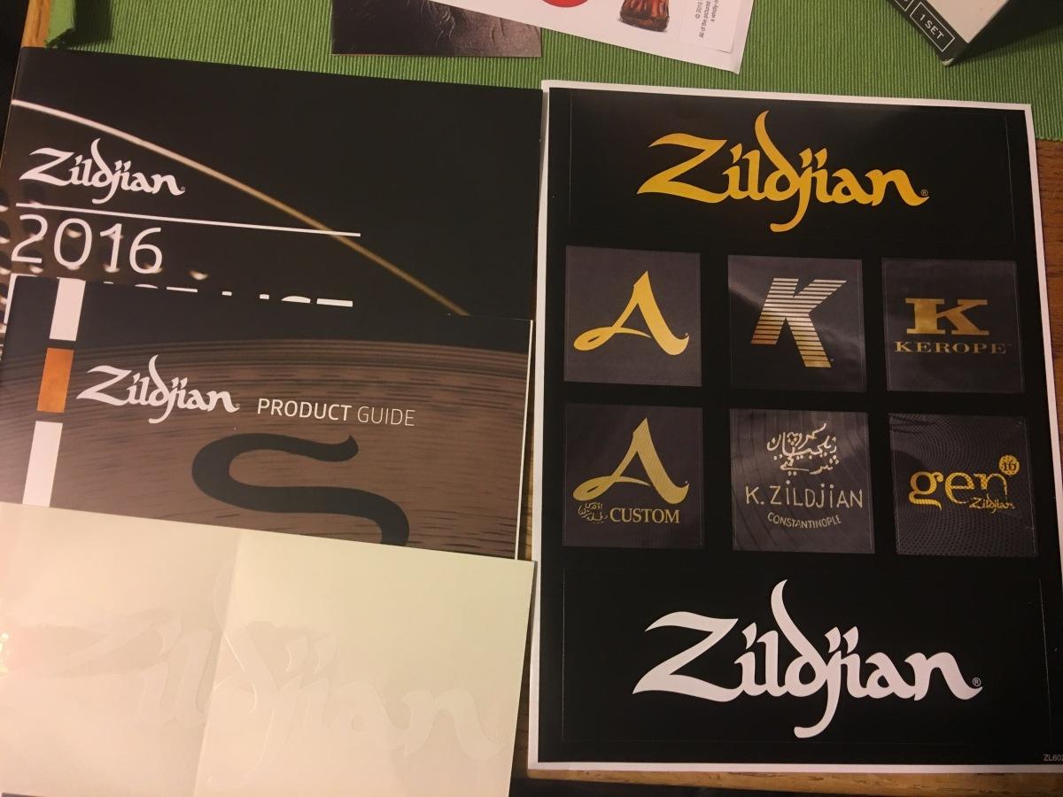 Zildjian Cymbals Stickers And Product Guide Sticker Junkies